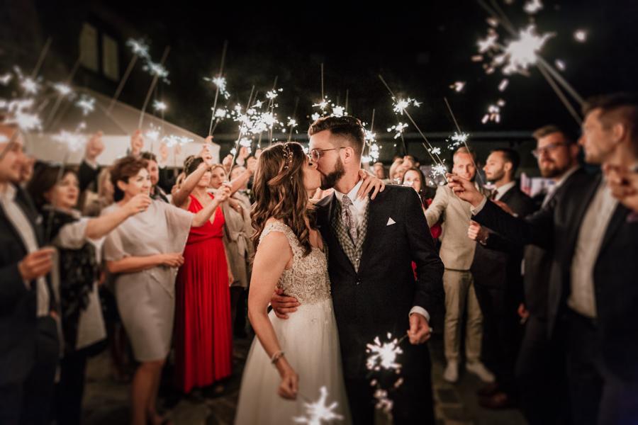 Slow wedding nad jeziorem Łańsk
