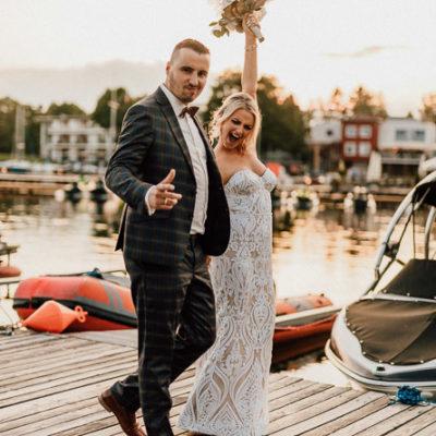 Aneta i Piotr - Wesele nad jeziorem w Olsztynie - Restauracja Przystań-64