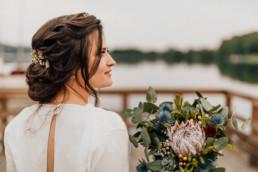 Ślub nad Jeziorem na Mazurach - Przystanek Zatoka 42