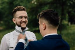 Slow wedding nad jeziorem Łańsk 22