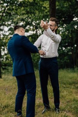 Slow wedding nad jeziorem Łańsk 24